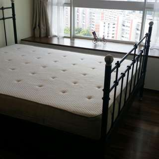 IKEA Hesseng Mattress And Bed Frame
