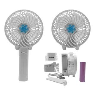 Mini Handheld Portable Fan Foldable Table Cooling Fan Handy Rechargable