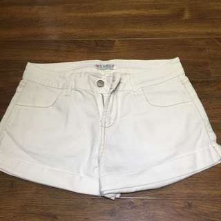 Guess White Shorts