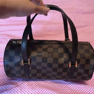 Authentic LV Papillon 26 Damier