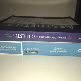 Aesthetics Textbooks