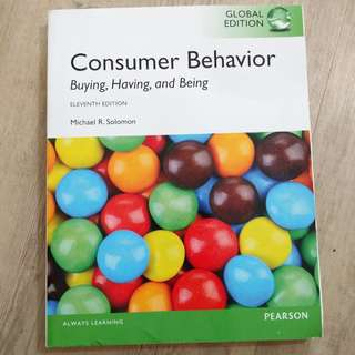 Consumer Behavior, Global Edition By Michael R. Solomon
