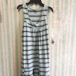 Terusan Abu Abu Grey Dress