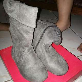 Sugar Kids Boots Gray