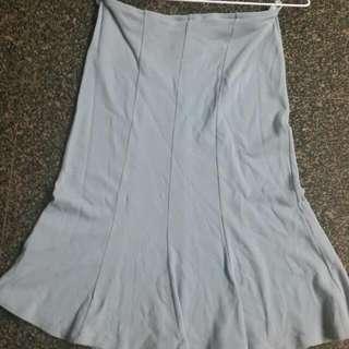 淺藍色😍 有伸縮性😀 魚尾裙