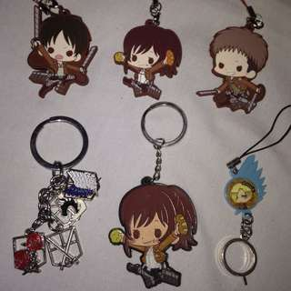 Attack On Titan - Anime Keychains