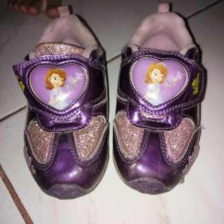 Sofia Rubber Shoes  W/ Light