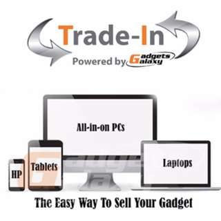 Trade in powered by Gadgets Galaxy