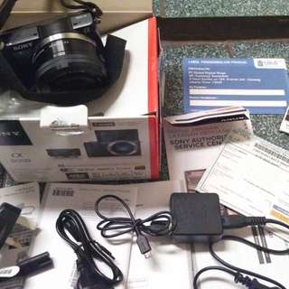 Camera Mirrorless Sony A5000