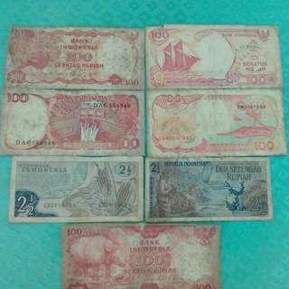 Uang Kuno Asli