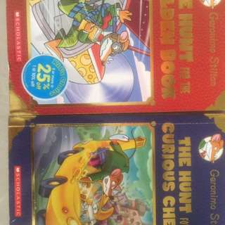 Geronimo Stilton The Hunt Selling At S$10
