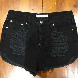 Minkpink Black Shorts Size 10