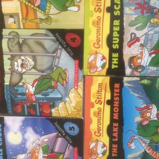 Geronimo Stilton mini mystery 1 To 5 Selling At S$20