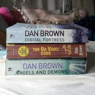 Dan Brown Collection (Da Vinci Code, Digital Fortress, Angels and Demons)
