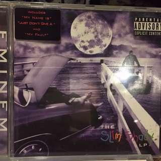 """""""The Slim Shady LP"""" Eminem music cd"""