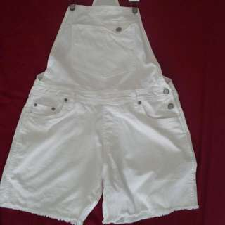 """White Short Overall """"Colorbox"""""""