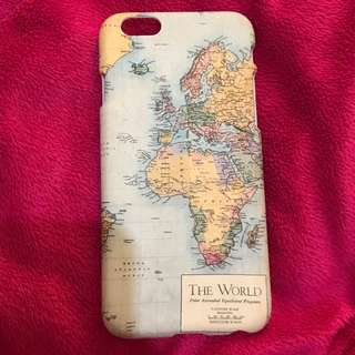 Typo The World Printed iPhone 6/6s Case