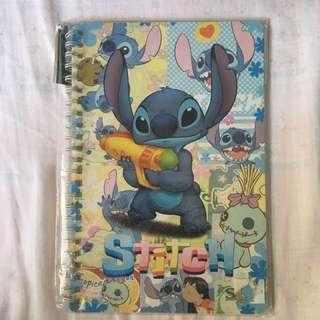 Disney 迪士尼 史迪仔 Stitch 筆記簿