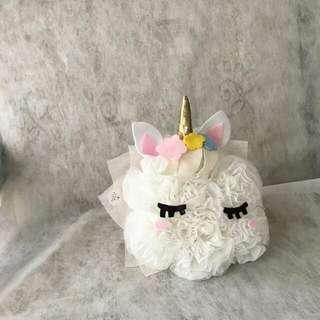 unicorn bouquet 20cm
