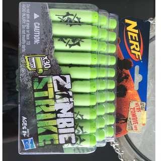 Nerf Zombie Strike x30 Piece bullets