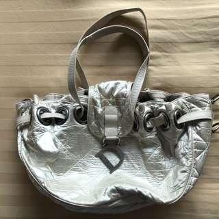 Dior Handbag Satin Fabric