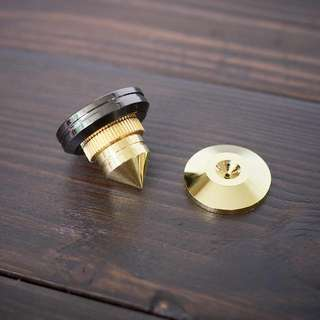 Gold-plated Metal Speaker/Isolation Spikes Set