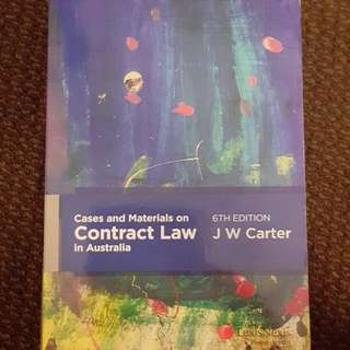 Cases And Materials On Contract Law In Australia