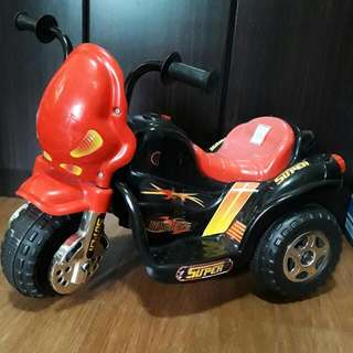 Rechargeable Kiddie Scooter