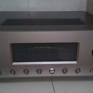🚚 Luxman L503S 綜合擴大機,附遙控器,電源線。