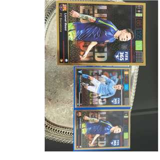 Limited Editions Very rare Champions league cards!