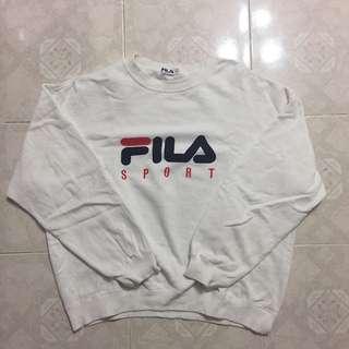 Fila Sweatshirt White