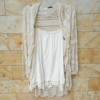 Outer + Tanktop Import made in China