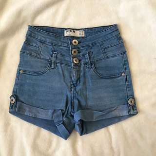 Cotton On High-wasted Shorts Size 6