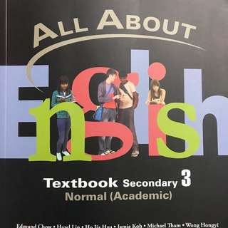 All About English Textbook Secondary 3 (NA)