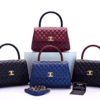 Chanel Coco Top Handle Caviar
