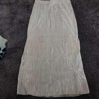 Bardo Shimmer Midi Skirt