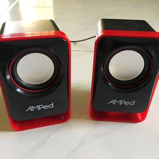 AMPed Speakers