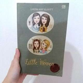 Novel Little Women By Louisa May Alcott