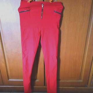 Legging / Jegging Warna Merah
