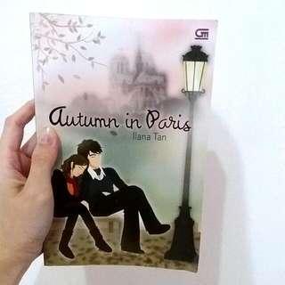 Novel Autumn In Paris By Ilana Tan