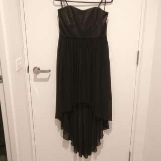 Forever New Black Strapless Dress