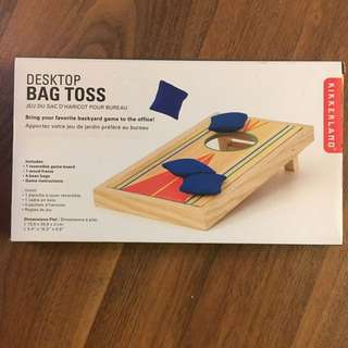 Desktop Bag Toss