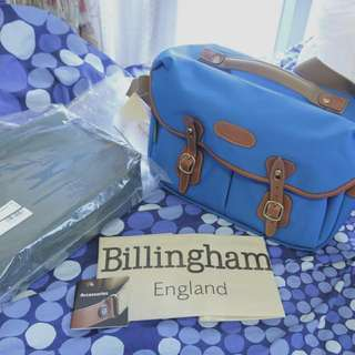 Brand New Billingham x Pedlars Hadley Pro - Electric Blue/Orange Special Edition (Free Insert)