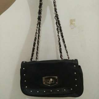 New Look Bag Hitam Murah (Free Ongkir)