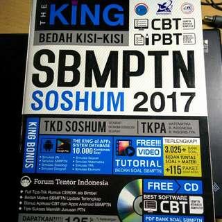 Buku THE KING SBMPTN TKPA SOSHUM 2017