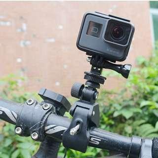 原廠品質 腳踏車夾 單車夾 自行車夾 4K 4K+ 運動相機 小蟻 gopro hero3 hero4 hero5