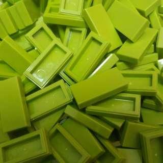 Lego® Lime Tile 1x2