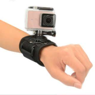 原廠品質 手腕帶 手帶 360度旋轉 4K 4K+ 運動相機 小蟻 gopro hero3 hero4 hero5
