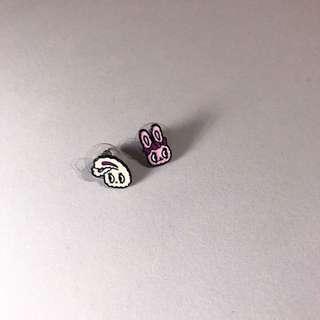 日本兔子兔子耳環🐰