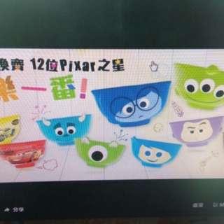 7 11 Pixar 陶瓷碗
